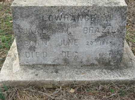 LOWRANCE, JANE M - Saline County, Arkansas | JANE M LOWRANCE - Arkansas Gravestone Photos