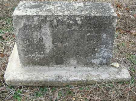 LOWRANCE, JOHN W - Saline County, Arkansas   JOHN W LOWRANCE - Arkansas Gravestone Photos