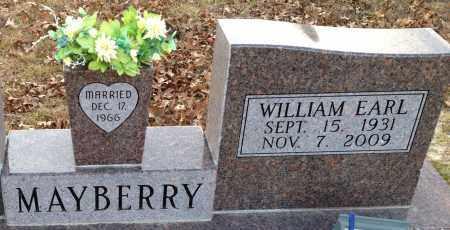 MAYBERRY, WILLIAM EARL - Saline County, Arkansas | WILLIAM EARL MAYBERRY - Arkansas Gravestone Photos