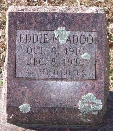 MCADOO, EDDIE - Saline County, Arkansas   EDDIE MCADOO - Arkansas Gravestone Photos