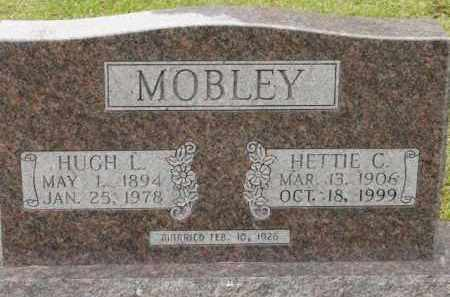 MOBLEY, HUGH L - Saline County, Arkansas | HUGH L MOBLEY - Arkansas Gravestone Photos