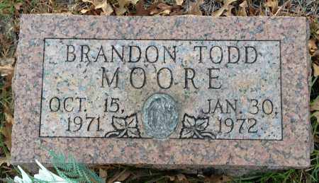 MOORE, BRANDON TODD - Saline County, Arkansas | BRANDON TODD MOORE - Arkansas Gravestone Photos