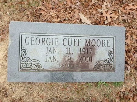 MOORE, GEORGIE - Saline County, Arkansas   GEORGIE MOORE - Arkansas Gravestone Photos