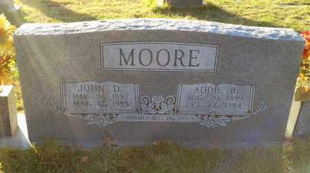 MOORE, ADDIE B - Saline County, Arkansas | ADDIE B MOORE - Arkansas Gravestone Photos