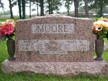 MOORE, RUBEN C - Saline County, Arkansas | RUBEN C MOORE - Arkansas Gravestone Photos