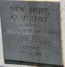 *NEW HOPE,  - Saline County, Arkansas    *NEW HOPE - Arkansas Gravestone Photos