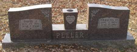 PEELER, FRANCES OLIVIA - Saline County, Arkansas   FRANCES OLIVIA PEELER - Arkansas Gravestone Photos