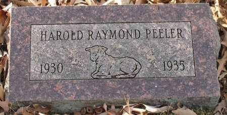 PEELER, HAROLD RAYMOND - Saline County, Arkansas | HAROLD RAYMOND PEELER - Arkansas Gravestone Photos