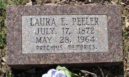 PEELER, LAURA ELLEN - Saline County, Arkansas | LAURA ELLEN PEELER - Arkansas Gravestone Photos