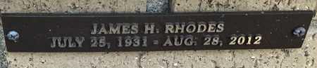 RHODES, JAMES H. - Saline County, Arkansas | JAMES H. RHODES - Arkansas Gravestone Photos