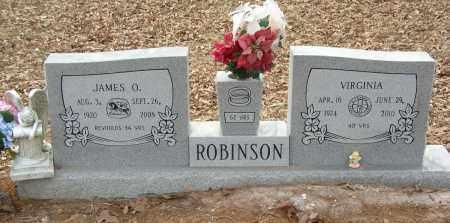 ROBINSON, JAMES O - Saline County, Arkansas | JAMES O ROBINSON - Arkansas Gravestone Photos