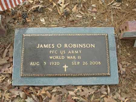 ROBINSON (VETERAN WWII), JAMES O - Saline County, Arkansas | JAMES O ROBINSON (VETERAN WWII) - Arkansas Gravestone Photos
