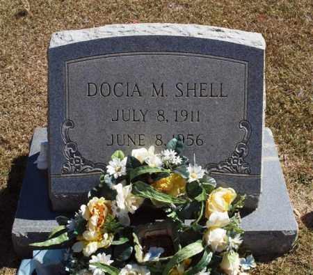 SHELL, DOCIA M - Saline County, Arkansas | DOCIA M SHELL - Arkansas Gravestone Photos