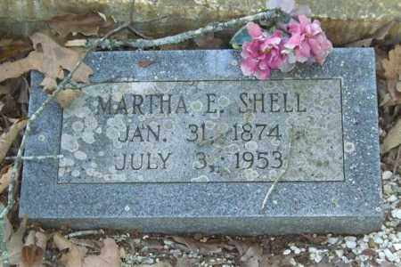 SHELL, MARTHA E. - Saline County, Arkansas   MARTHA E. SHELL - Arkansas Gravestone Photos