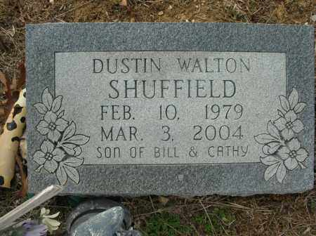 SHUFFIELD, DUSTIN WALTON - Saline County, Arkansas | DUSTIN WALTON SHUFFIELD - Arkansas Gravestone Photos