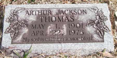 THOMAS, ARTHUR JACKSON - Saline County, Arkansas   ARTHUR JACKSON THOMAS - Arkansas Gravestone Photos