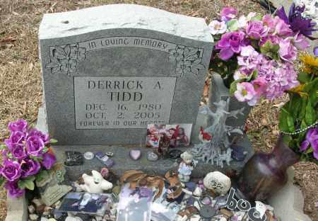 TIDD, DERRICK A - Saline County, Arkansas   DERRICK A TIDD - Arkansas Gravestone Photos