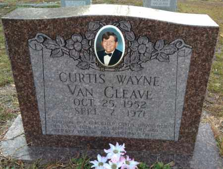 VAN CLEAVE, CURTIS - Saline County, Arkansas | CURTIS VAN CLEAVE - Arkansas Gravestone Photos
