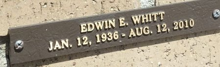 WHITT, EDWIN E. - Saline County, Arkansas | EDWIN E. WHITT - Arkansas Gravestone Photos