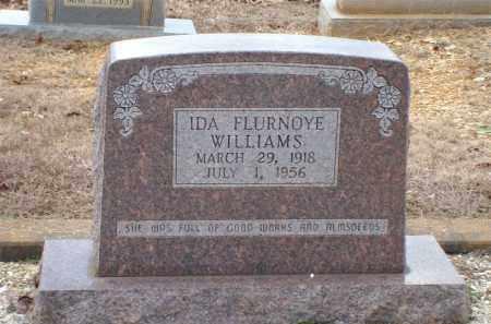 WILLIAMS, IDA FLURNOYE - Saline County, Arkansas   IDA FLURNOYE WILLIAMS - Arkansas Gravestone Photos