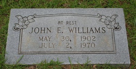 WILLIAMS, JOHN E - Saline County, Arkansas | JOHN E WILLIAMS - Arkansas Gravestone Photos