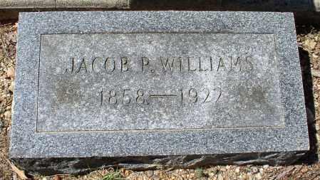 WILLIAMS, JACOB P. - Saline County, Arkansas   JACOB P. WILLIAMS - Arkansas Gravestone Photos
