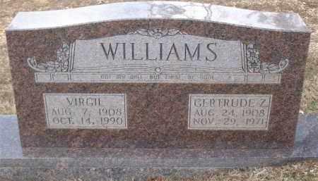 WILLIAMS, GERTRUDE Z - Saline County, Arkansas   GERTRUDE Z WILLIAMS - Arkansas Gravestone Photos