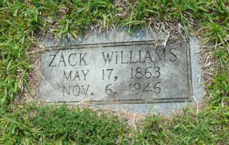 WILLIAMS, ZACK - Saline County, Arkansas | ZACK WILLIAMS - Arkansas Gravestone Photos