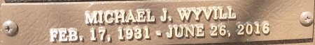 WYVILL, MICHAEL J. - Saline County, Arkansas   MICHAEL J. WYVILL - Arkansas Gravestone Photos