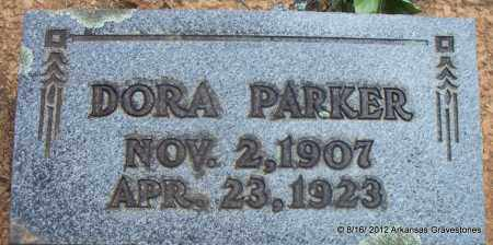 PARKER, DORA - Scott County, Arkansas | DORA PARKER - Arkansas Gravestone Photos