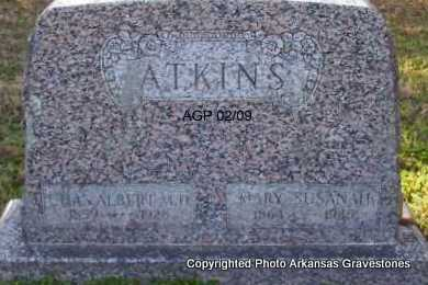NORRIS ATKINS, SUSANAH - Scott County, Arkansas | SUSANAH NORRIS ATKINS - Arkansas Gravestone Photos