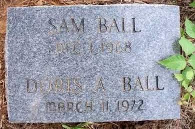 BALL, DORIS A - Scott County, Arkansas | DORIS A BALL - Arkansas Gravestone Photos