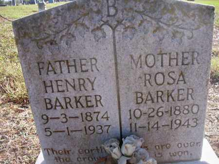 BARKER, HENRY - Scott County, Arkansas | HENRY BARKER - Arkansas Gravestone Photos