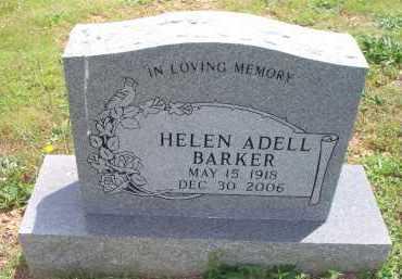 BARKER, HELEN ADELL - Scott County, Arkansas | HELEN ADELL BARKER - Arkansas Gravestone Photos