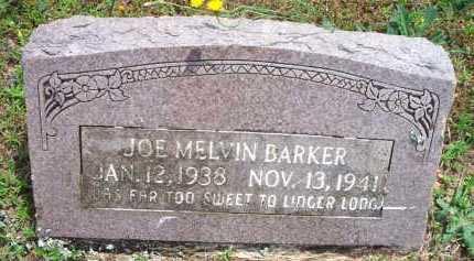 BARKER, JOE MELVIN - Scott County, Arkansas | JOE MELVIN BARKER - Arkansas Gravestone Photos