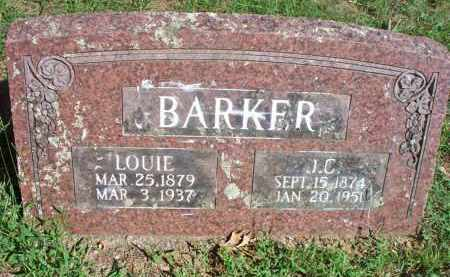 BARKER, J C - Scott County, Arkansas | J C BARKER - Arkansas Gravestone Photos