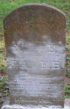 BARKER, NANCY E - Scott County, Arkansas   NANCY E BARKER - Arkansas Gravestone Photos