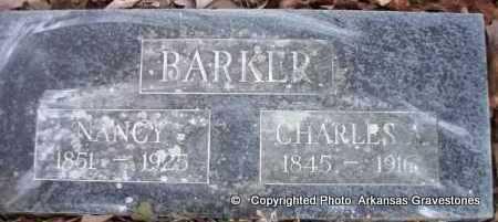BARKER, CHARLES A - Scott County, Arkansas | CHARLES A BARKER - Arkansas Gravestone Photos