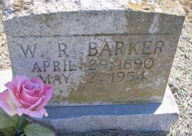 BARKER, W R - Scott County, Arkansas | W R BARKER - Arkansas Gravestone Photos