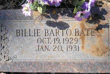 BATES, BILLIE BARTO - Scott County, Arkansas | BILLIE BARTO BATES - Arkansas Gravestone Photos