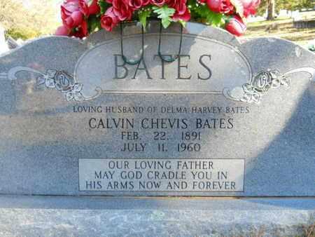 BATES, CALVIN CHEVIS - Scott County, Arkansas | CALVIN CHEVIS BATES - Arkansas Gravestone Photos