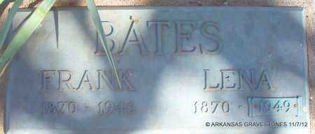 BATES, LENA - Scott County, Arkansas | LENA BATES - Arkansas Gravestone Photos