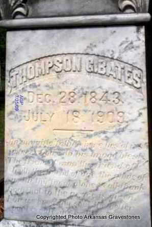 BATES, THOMPSON G - Scott County, Arkansas   THOMPSON G BATES - Arkansas Gravestone Photos