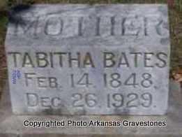 BATES, TABITHA - Scott County, Arkansas | TABITHA BATES - Arkansas Gravestone Photos
