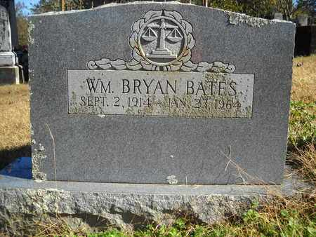 BATES, WM  BRYAN - Scott County, Arkansas | WM  BRYAN BATES - Arkansas Gravestone Photos