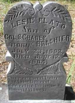 BRASHIER, LESIE FLATO - Scott County, Arkansas | LESIE FLATO BRASHIER - Arkansas Gravestone Photos