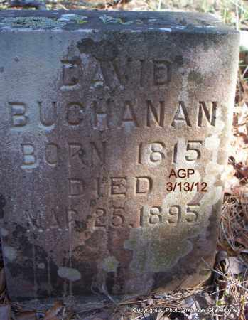 BUCHANAN, DAVID - Scott County, Arkansas | DAVID BUCHANAN - Arkansas Gravestone Photos