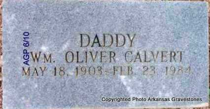 CALVERT, WM OLIVER - Scott County, Arkansas | WM OLIVER CALVERT - Arkansas Gravestone Photos