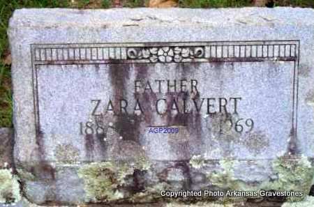 CALVERT, ZARA - Scott County, Arkansas | ZARA CALVERT - Arkansas Gravestone Photos