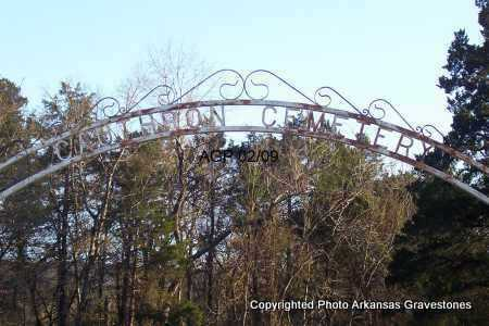 *CAUTHRON, *GATE - Scott County, Arkansas | *GATE *CAUTHRON - Arkansas Gravestone Photos